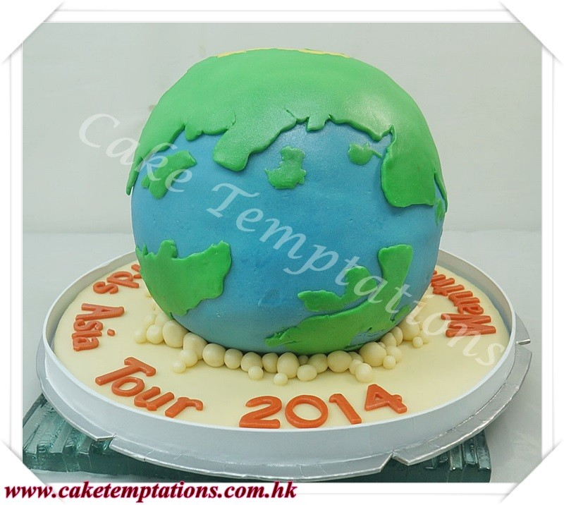3d Earth Model Cake 3d Earth Cake Other Creative