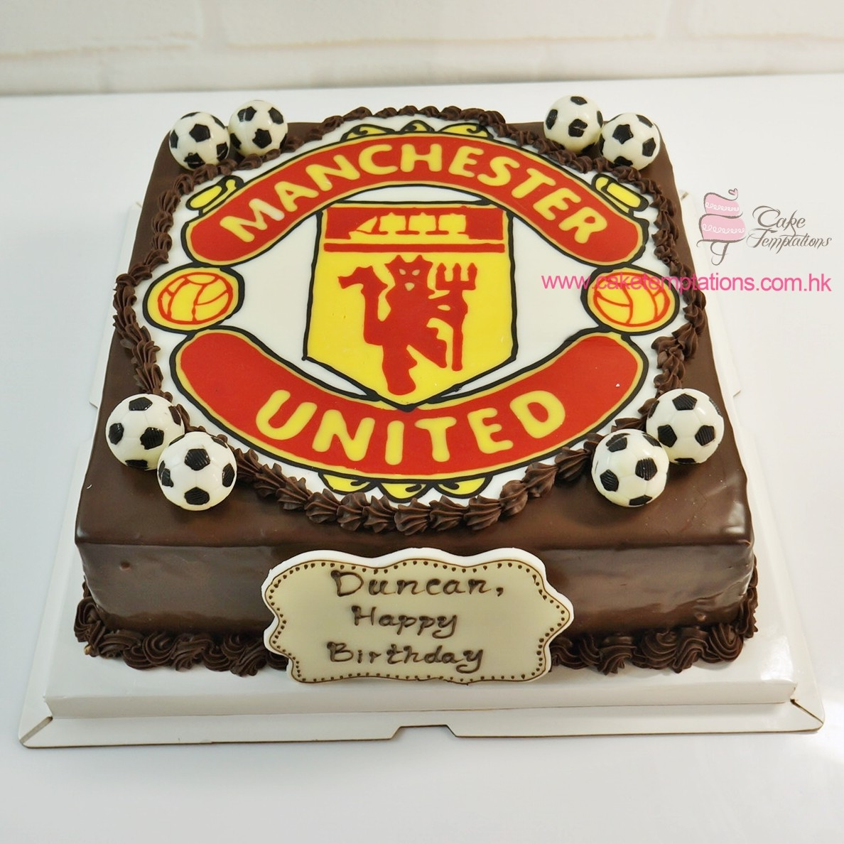 manchester united cake sports music cake temptations