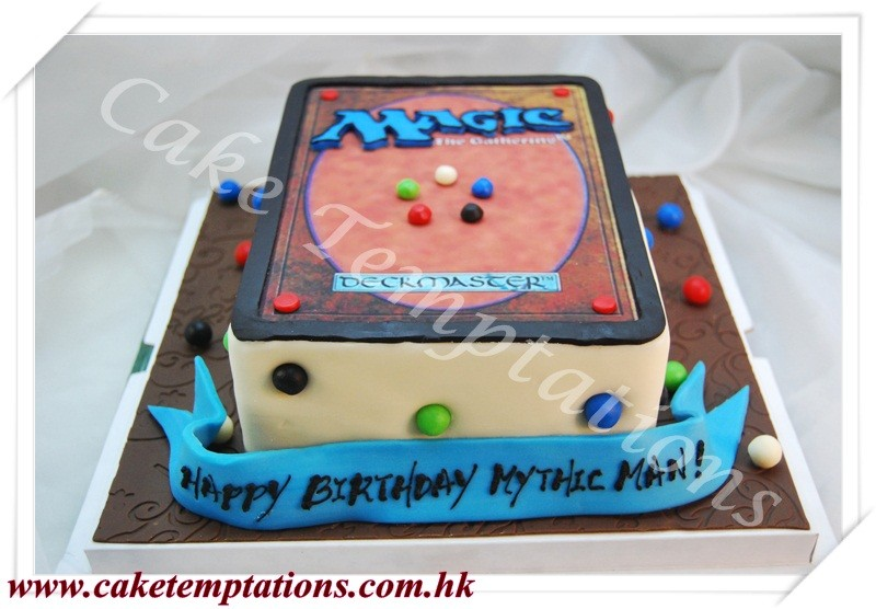 Magic The Gathering Card Cake Gadgets Watch Music Games