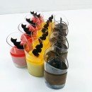 Mini Dessert Mousse cup (Mango/Strawberry/ Chocolate)