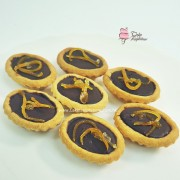 Mini Orange Chocolate Tartlets