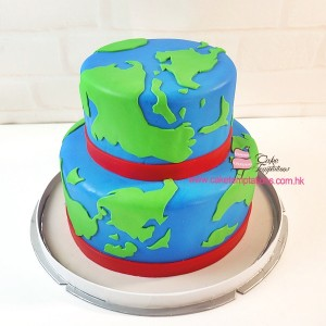 2 Layers Of Earth Cake