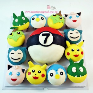 Pokemon Cupcake set