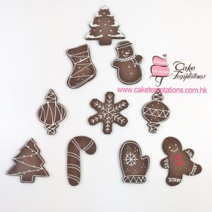 Xmas chocolate assorted cookies