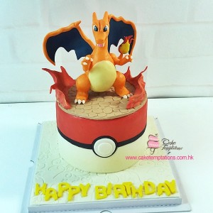 3D Charizard Cake- Pokemon
