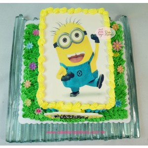 "Photo Cake- Despicable Me ""Minions"""