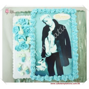 Photo Print - Big Bang (Top) Cake