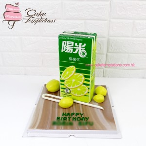 3D HI-C Lemon Tea Cake