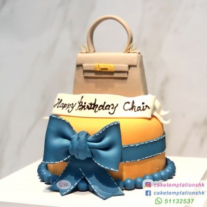 Mini Hermès Kelly Handbag Cake
