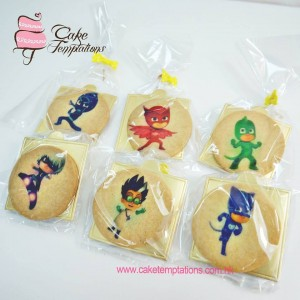 PJ Mask Photo print cookies