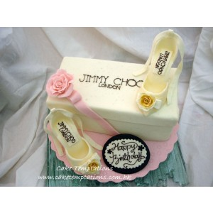 3D JJIMMY CHOO High Heels Cake