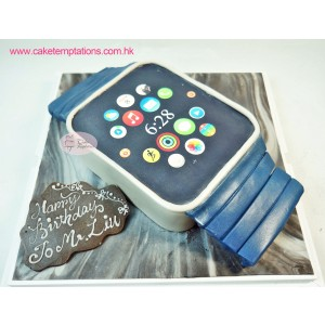 3D Apple Watch Birthday Cake