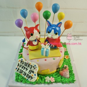Yo-kai Watch cake