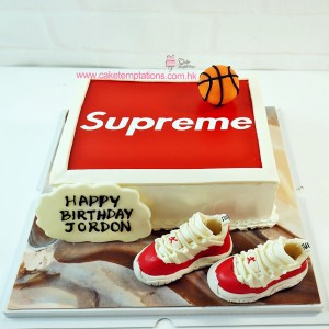Photo Print - Supreme LOGO Cake