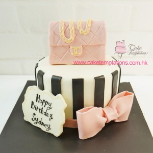 Mini CHANEL Handbag Cake