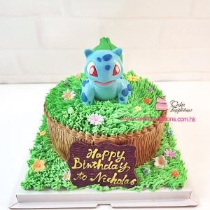 Pokemon Tree Cake