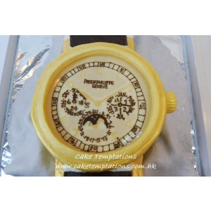 3D Patek Philippe Watch Cake