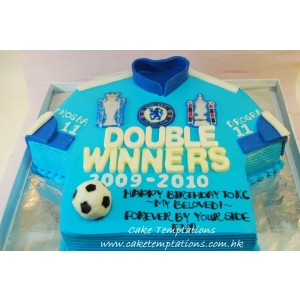 Chelsea Double Winners Cake
