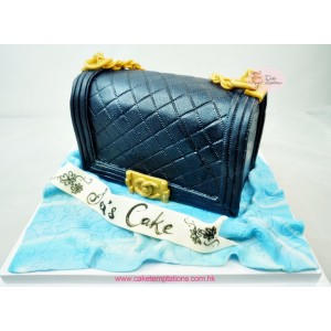 CHANEL Handbag - Dark Blue