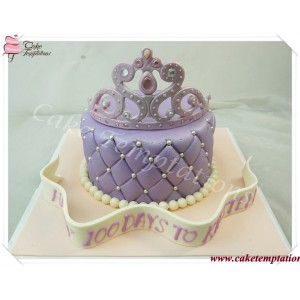 Diamond Tiara Cake