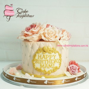Pink Rosy cake