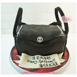 3D Hermès Lindy Bag Cake