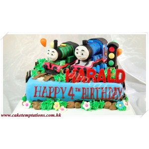 Thomas Happy Birthday Cake