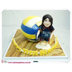 3D Volleyball W.  Volleyball players