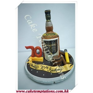 3D Royal Lochnagar Cake