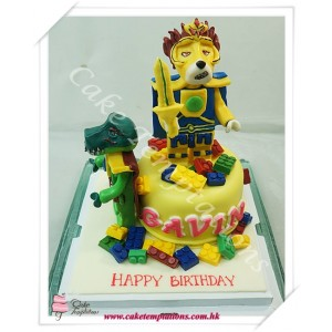 LEGO Legends Of Chima Cake