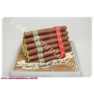 3D Brunch of Behike Cigars Cake