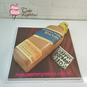 Whisky  – Blue Label  Cake