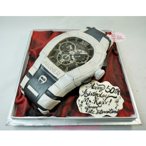 3D Watch Birthday Cake
