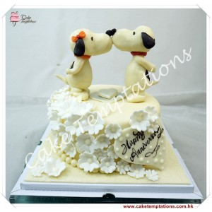 Snoopy Birthday Cake