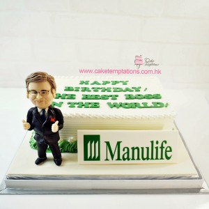 Photo Print - Company LOGO Cake
