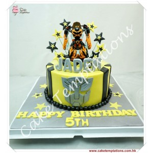 3D Transformers Bumblebee Cake