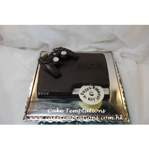 3D Playstation Cake