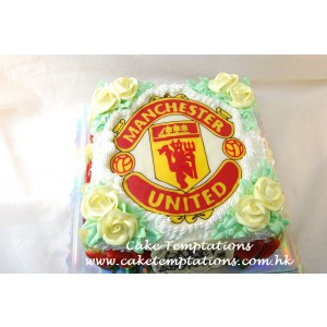 2D Manchester United Cake