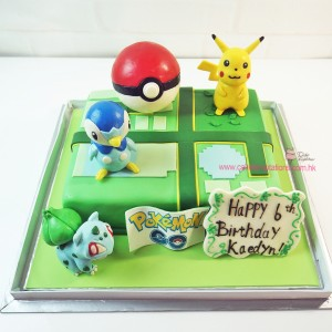 3D Pokemon Cake