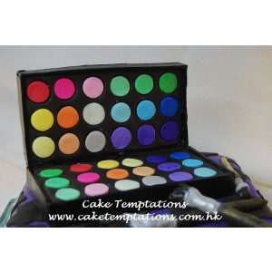 3D Make up Box Cake