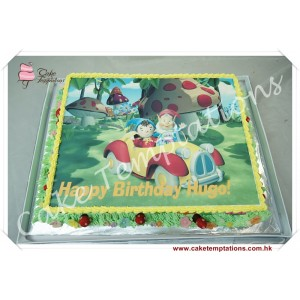 Photo Print - Nody Birthday Cake