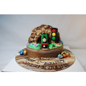 Mini Percy Train Cake