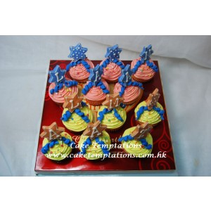 Little Star Cup Cake