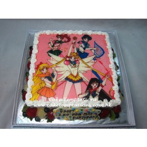 2D Sailormoon Cake