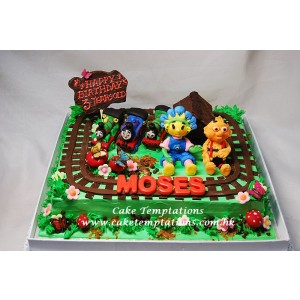 3D Fifi at Moses Train Station Cake