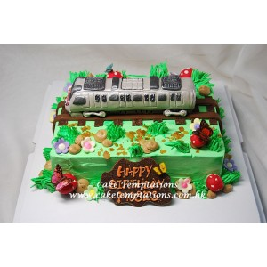 3D Mini MTR Trains Cake