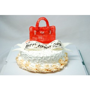 Mini Hermes Bag Cake