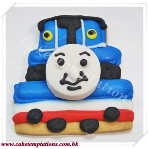 Thomas Train Cookie