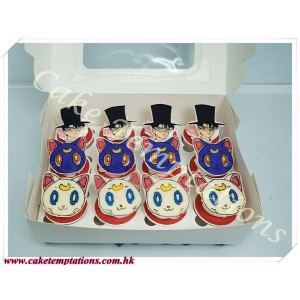 Sailor Moon Cupcakes