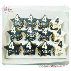Star & Number Cup Cake